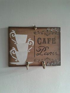 Placa Decorativa Café Paris