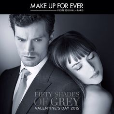 fifty shades of grey pics on set | Makeup Forever Set To Release 'Fifty Shades of Grey' Collection : Feel ...