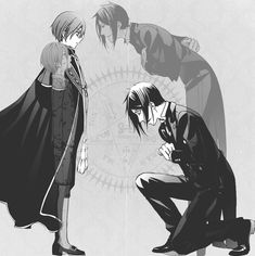 I love this. It just shows how much more respect Sebby has for Ciel..or how much he can't wait to eat his soul idk.