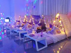 Stunning Slumber Party Tent Unicorn Party!