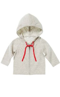 Pure Baby Organics, Boy Zip Through Hoodie  9/30/14 Hazard: The sweaters have a drawstring around the neck area which poses a strangulation hazard to children. Drawstrings can become entangled or caught on playground slides, hand rails, school bus doors or other moving objects, posing a significant strangulation or an entanglement hazard to children.