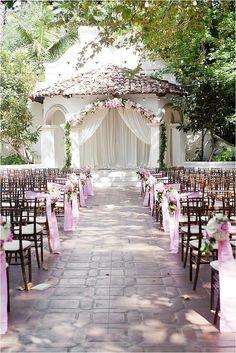 Pink Rancho Las Lomas Wedding From Eyelet Images