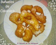 Buñuelos de Calabaza.