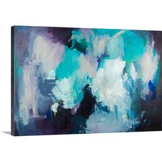 Great Big Canvas 'She Ordered the Sashimi' by Amira Rahim Original Painting on Wrapped Canvas