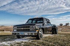 1989 Chevrolet Dually Tow Rig Super Clean Runs Great 454 Lowered for sale: photos, technical specifications, description Dually Trucks For Sale, C10 Trucks, Lowered C10, C10 For Sale, Ls Swap, Square Body, 4x4, Super Clean, Custom Trucks