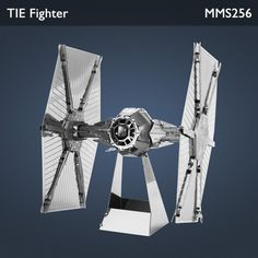 Metal Earth Star Wars TIE Fighter 3d Laser Cut Miniature Model Unique Gifts TIE fighters are fictional starfighters in the Star Wars universe. Propelled by Twin Ion Engines (hence the TIE acronym), TIE fighters are depicted as fast, fragile starfighters produced by Sienar Fleet Systems for the Galactic Empire.