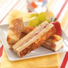 How To Make Ham 'n' Cheese Brunch Strips Recipe