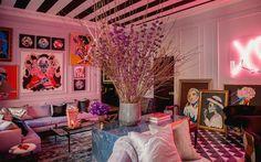 Home Decoration Painting .Home Decoration Painting Casa Jenner, Kylie Jenner Room, Jenner House, Home Design, Interior Design, Interior Paint, Cheap Home Decor, Diy Home Decor, Maximalist Interior