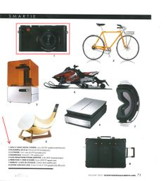 "Downtown Magazine featured the Leica X Vario in their annual holiday gift guide as a choice for the ""Smartie""."