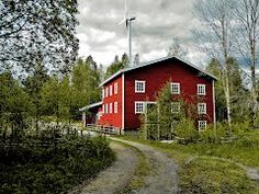 Pictures Watermill and windturbine. Finland, Cabin, House Styles, Pictures, Home Decor, Wind Turbine, Photos, Decoration Home, Room Decor