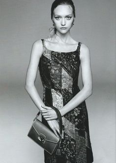New campaign for Prada with the stunning Gemma Ward