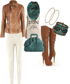 """""""Biker Blue"""" by caimee32 on Polyvore"""