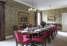 Abbotsford Hope Scott Wing The Formal Dining Room, Scotland