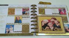 PLAN WITH ME | HAPPY PLANNER | Golden Girls Theme! - YouTube
