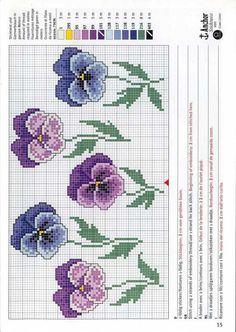 Gallery.ru / Фото #107 - Easter 1 - vesela700 Cross Stitch Rose, Cross Stitch Flowers, Cross Stitch Patterns, Perler Beads, Easter, Kids Rugs, Quilts, Floral, Hand Crafts