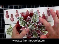 Stampin' Up Holiday Mini Catalog Ornament