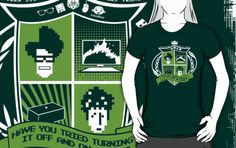 The IT Crowd Crest by Tom Trager $25
