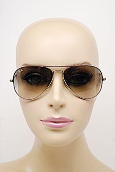 Ray-Ban RAY BAN Plum/Lavender Aviator Sunglasses w/Gray Ombre Lens