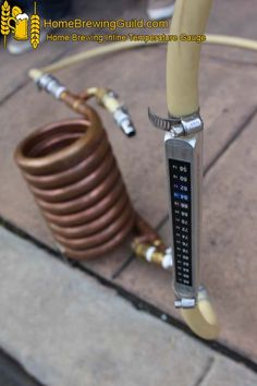 Home Brewing Inline Temperature Gauge  http://www.homebrewingguild.com/Home-Brewing-Photos.php