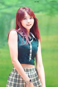 idols generation Kpop Girl Groups, Korean Girl Groups, Kpop Girls, Kpop Outfits, Girl Outfits, Ioi Nayoung, Burmese Girls, School Girl Outfit, Korean Celebrities