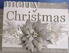SGD Presents.: Christmas Cards to Share! Memory Box Dies, Paper Ornaments, Die Cut Cards, Elegant Christmas, December 2013, Poinsettia, Christmas Cards, Presents, Place Card Holders