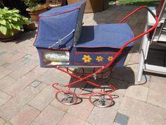 Panorame Puppenwagen 70er Dachbodenfund Puppenwagen Kinderwagen antik | eBay