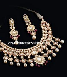 Polki Diamond Jadau Jewellery' border=