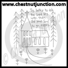 The Lord's Way Line Art – Chestnut Junction
