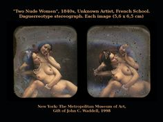 Two Nude Women (collage). French School, Daguerreotype, Erotic, Collage, Nude, Artist, Movie Posters, Photos, Image