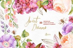 Sweet Dreams. Floral Collection - Illustrations - 1