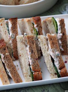 Kolmioleipien suolaiset täytteet x 3 - Kaakao kermavaahdolla Sandwich Cake, Sandwiches, Kitchen Time, Tapas, Food And Drink, Appetizers, Bread, Snacks, Baking