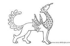 dibujos para dibujar bestia