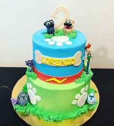 Puppy dog pals cake Puppy Dog Pals