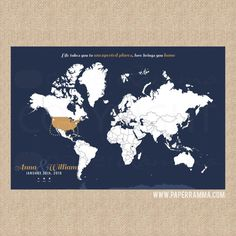 Travel Infographic Customizable World Travel Map - World map to mark travels