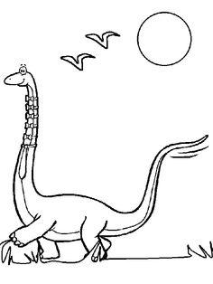 Die 17 Besten Bilder Von Ausmalbilder Dinosaurier Dinosaurs