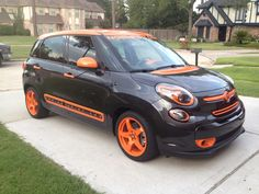 Our 2014 Fiat 500L is done!