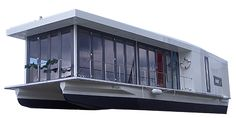 NOMAD Solar powered Houseboat
