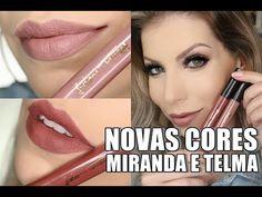 NOVAS CORES DOS BATONS LUCIANE FERRAES - YouTube