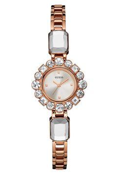 6274c51ec5e Đồng Hồ Nữ Guess Rose Gold Jewelry Sparkle U0701L3
