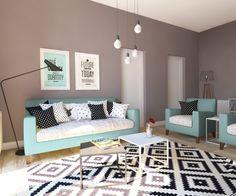 wohnung im skandinavischen stil | skandinavischer stil ... - Dachwohnung Im Skandinavischen Stil