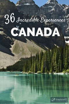 36 amazing adventures to add to your Canada bucket list! From British Colombia to Ontario to Newfoundland, Canada is a traveler's dream. | Blog by The Planet D: Canada's Adventure Travel Couple