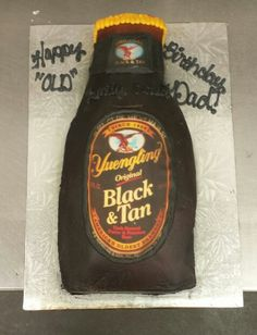 Yingling Beer Birthday Cake