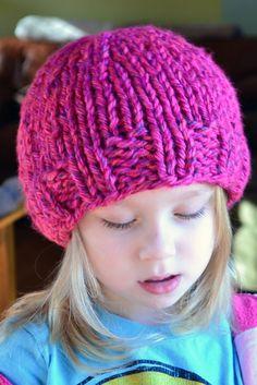 59e752aeeec Crochet in Color: Pretty Azalea Knitted Hat Gorras, Dos Agujas, Ganchillo,  Tejidos