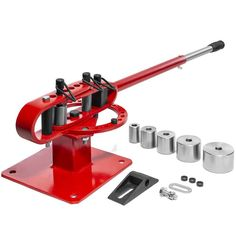 The 1 in. to 3 in. Bench Die Compact Pipe Bender is designed to make a variety of bends on flat, square or solid round stock and can be mounted on your workbench for a more comfortable work height that