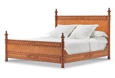 Bamboo Bed, Natural