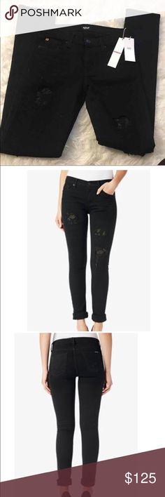 New Hudson mid rise skinny jeans Custom shine Size 26 New with tags Retails for $265 New Hudson mid rise skinny jeans Hudson Jeans Jeans Skinny