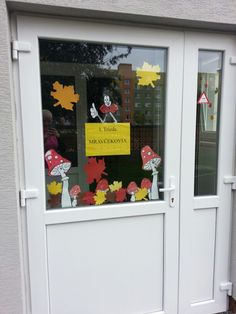 Výzdoba dverí jeseň