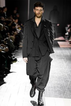 The winter guys from Yohji Yamamoto are not the ones you want to mess up with. Description from designandculturebyed.com. I searched for this on bing.com/images
