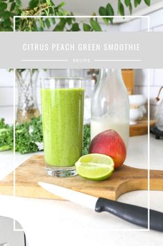 Plum Pretty Decor & Design Co. Green Smoothie Recipes, Healthy Smoothies, Different Recipes, New Recipes, Cantaloupe, Fruit, Plum, Food, Eten
