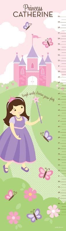 Happily Ever After Princess The Pea Growth Chart Growth Charts